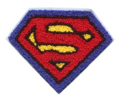 Superman Chenille Patch Large (14cm x 11cm)