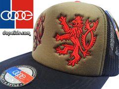 "smartpatches ""Bohemian Lions"" Vintage Style Trucker Hat (OD Hat 2 Lions)"