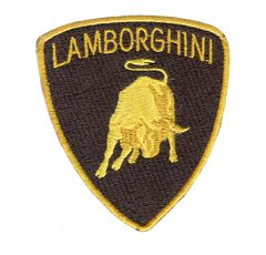 Lamborghini Patch 8.5cm x 7.75 cm (3 Sizes Available)