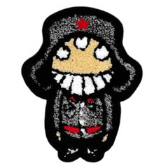 Cute Chenille Soldier Patch XL 17cm