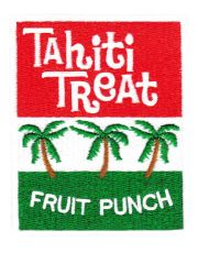 Vintage Style 70's 80's Tahitian Hawaii Surf Surfing Tahiti Treat Patch 8cm