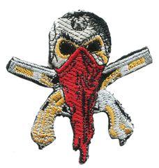 Skull Patch Bandit 8.5cm