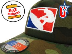 smARTpatches Truckers Major League Surfer Surfing Trucker Hat Curved Bill (Camo)