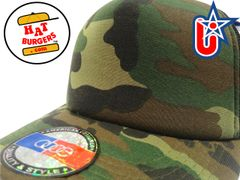 smartpatches Truckers Blank Trucker Hat Curved Bill (Camo)