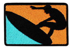 Beautiful Surfing Surfer Patch 10cm