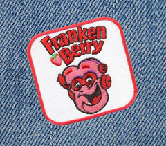 Frankenberry Cereal Patch 8cm x 8cm