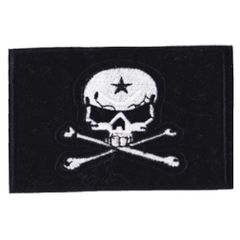 Skull Flag Patch 10cm