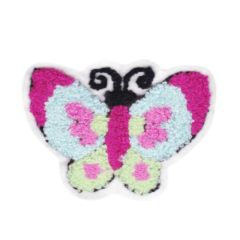 Cute Chenille Butterfly Patch 11cm
