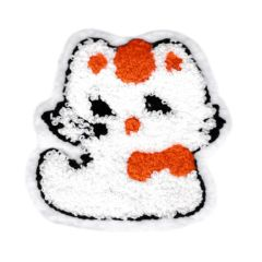 Cute Chenille Kitty Cat Patch 9cm