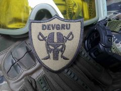 Cool USA Tactical Military Custom DEVGRU Tribute Morale Patch Seal Team 6 Applique 7.5cm