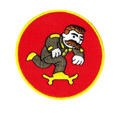 Cool Army/Military Skater Skateboarding Patch 8cm
