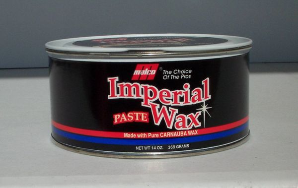 Malco Imperial Paste Wax Flash Auto Detailing Products