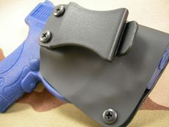 S&W M&P Shield w/ Crimson Trace Laser Bandit Holster