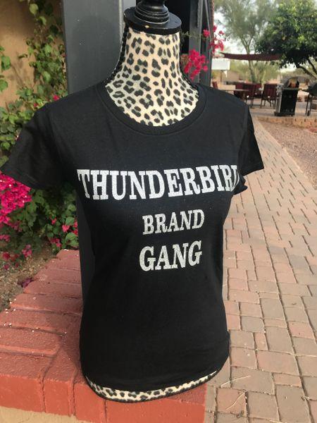 Thunderbird Brand gang t silver