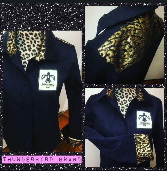 Cheetah Button-up