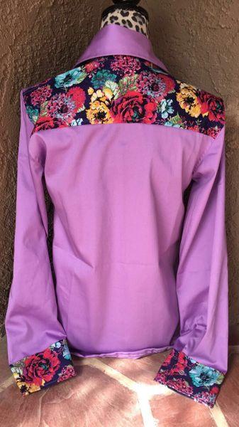 Floral violet custom