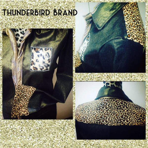 Cheetah Brand button up