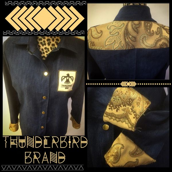 Gold Vintage Button-up