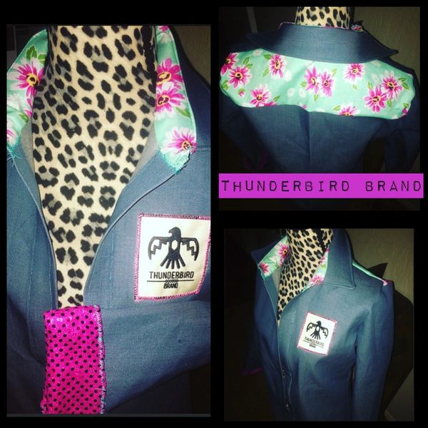Pink and Floral Button-up