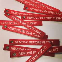 Scale REMOVE BEFORE FLIGHT tags - PAIR