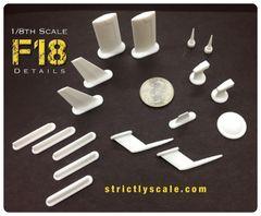 F-18 Scale Detail Parts Set - 1/8 Scale