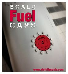 Scale Fuel Cap - 1/4 Scale