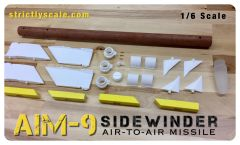 AIM-9 Scale Sidewinder - 1/6 Scale
