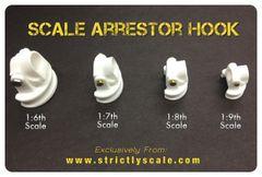 Arrestor Hook Parts - 1/9 Scale
