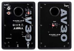 M-Audio Studiophile AV 30 Professional Monitor Speakers