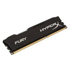 HYPERX FURY BLACK 4GB (1X4GB) DDR3 PC3-12800C10 1600MHZ