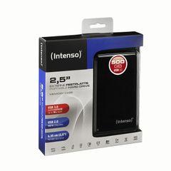500GB Intenso USB3.0 Memory Case 2.5-inch Slim Portable Hard Drive