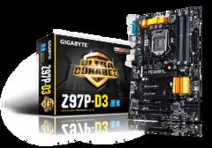 Gigabyte Z97P-D3 Socket: LGA1150