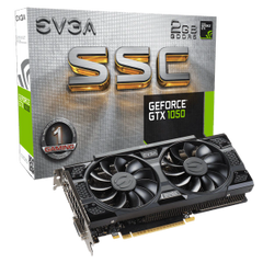 EVGA GeForce GTX 1050 SSC GAMING 2GB