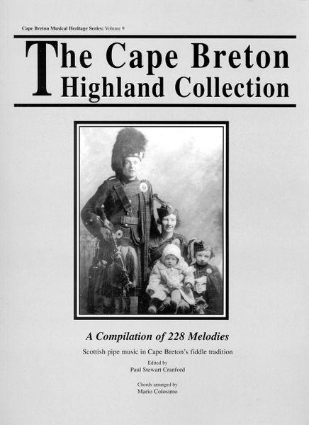 The Cape Breton Highland Collection — Scottish Pipe Music in Cape Breton's Fiddle Tradition