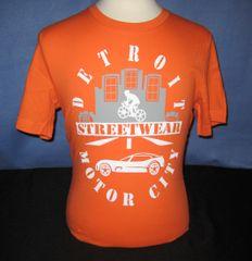 Detroit Streetwear Motor City - Orange (unisex)
