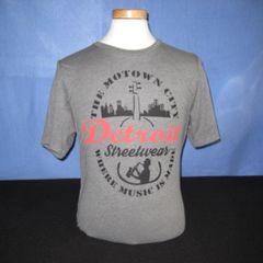 Detroit Streetwear - Motown Music (Gray)
