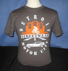 Detroit Streetwear Motor City - Gray unisex