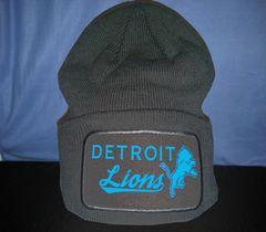 Detroit Lions Skull Cap