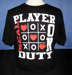 Real Player on Duty - T-shirt