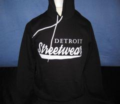 Streetwear Hoodie Black
