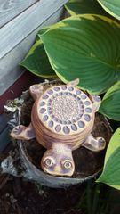Flower top turtle bowl