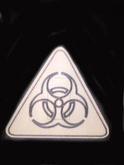 Bio Hazard Design Silly Patch