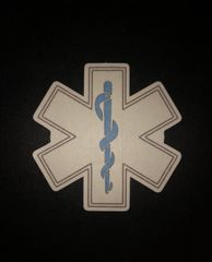 Star of Life Design Silly Patch