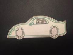 Race Car Design Silly Patch