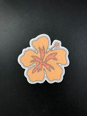 Hibiscus Flower Design Silly Patch