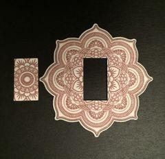 Mandala Design Silly Patch