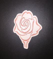 Rose Design Silly Patch