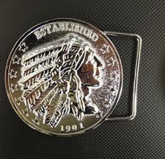 Chrome Belt Buckle - CI-6000C