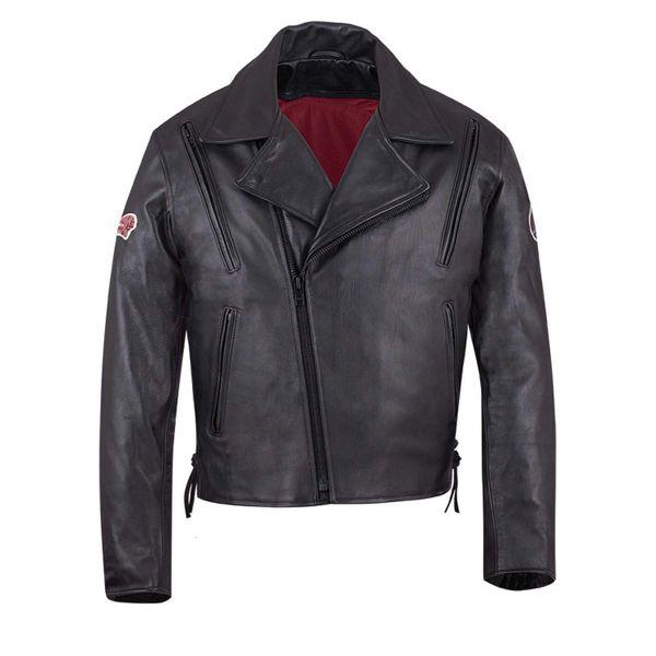 Jacket Liberty Black Leather 2867998 Indian Motorcycle