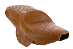 GENUINE LEATHER EXTENDED REACH HEATED SEAT DESERT TAN W/STUDS - 2882423-06